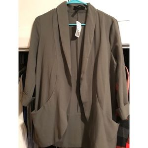 Crepe Blazer NEW WITH TAGS