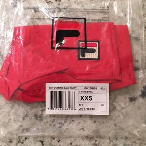 NEW! Fila limited edition players ball shorts! NWT