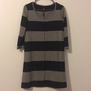 Black and Grey striped Jessica Simpson dress