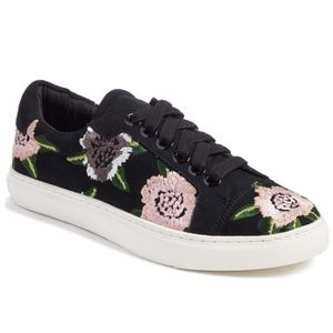 Rebecca Minkoff Floral Embroidered Sneakers