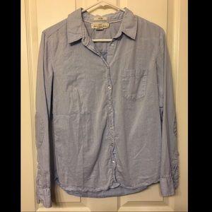 Lightweight denim blouse