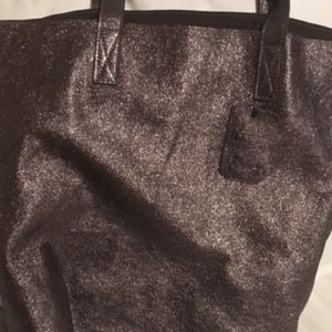 New...Sparkle Leather.......tote..