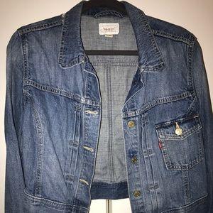 Levi's Crop Denim Jacket