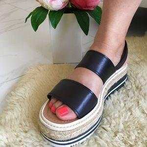 Prada platform sandals!