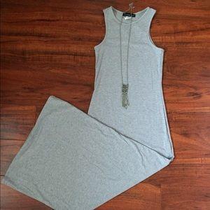 2/$10 Grey Maxi Dress