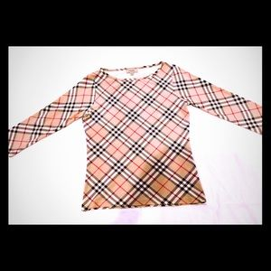 Burberry Classic Checkered Top