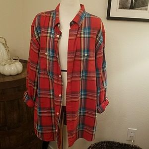 Old Navy slim fit flannel large