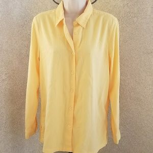The Top Shop button down collared shirt sz Small