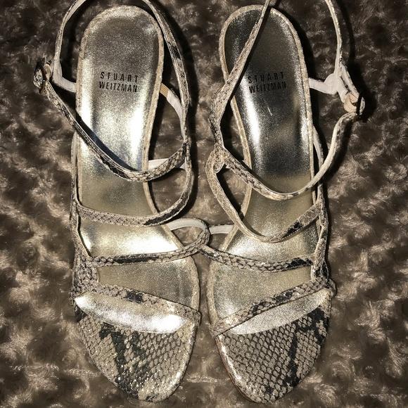 Stuart Weitzman Shoes - New Stuart Weitzman Serpent Evening Sandal
