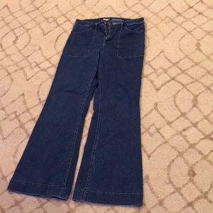 Wide leg jeans!
