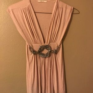 Soft and Sexy, Deep Plunge, Sleeveless, Blouse