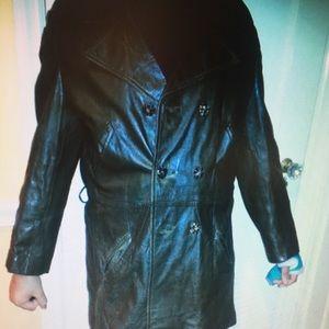 Vintage Leather & Suede Men's Jacket