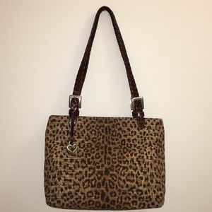 Brighton Animal Print Handbag