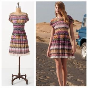 Weston Wear Flared Caraz Dress - EUC