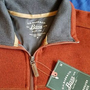NWT Bass Casual Sweater