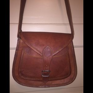 Handbags - Vintage Brown Leather Purse