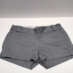 J Crew light gray short shorts