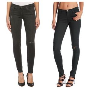 AG Ultimate Legging Extreme Skinny Distressed 28