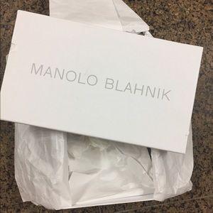 Manolo Blahnik. Empty shoes box!