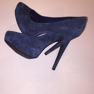 Jessica Simpson Francesca Leather Platform Heels