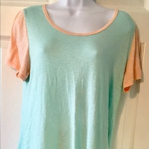 LLR outfit. NWT OS aqua leggings and tee nwot