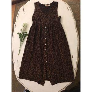 Vintage floral Midi/maxi dress