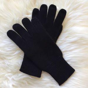 Hayden Black Cashmere Gloves