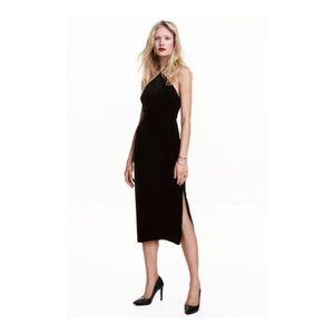 H&M By Night Velvet Dress
