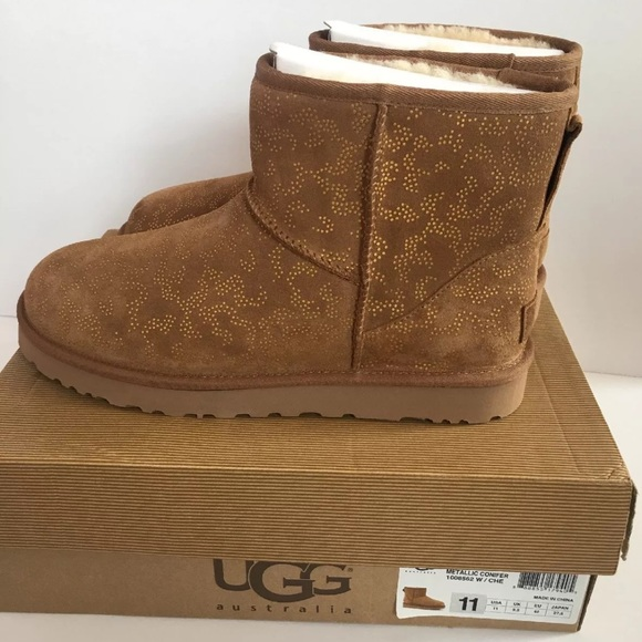 Ugg Boots chestnut metric conifer size 11 New