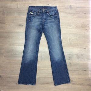Diesel Industry Medium Wash Jeans Blue Pants Women