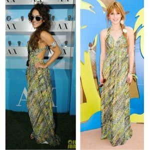 Armani Exchange Cut Out Maxi Dress
