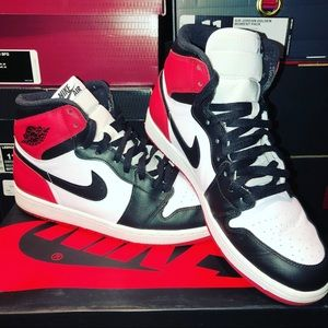 Air Jordan Shoes - Jordan 1 Retro OG Black Toe