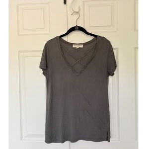 Urban Outfitters Criss Cross Tee
