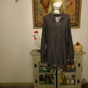 Size L long sleeve blouse