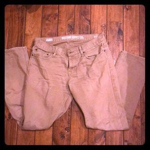 Men's Khaki slim pants