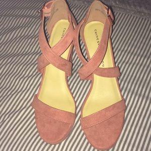 NWOT Ankle Strap Heels!!