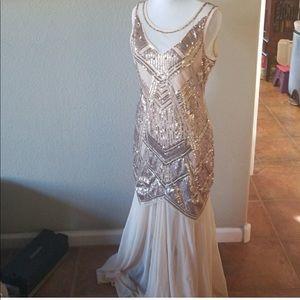 NEW! 20's Gatsby flapper dress