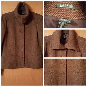 Lauren Ralph Lauren wool blazer.