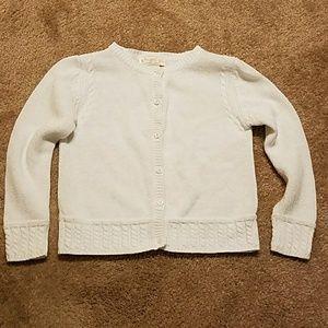 Hartstrings Lightweight White Cardigan