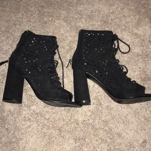 Lace up shoes from nasty gal - great condition