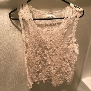 Charming Charlie's lace tank top