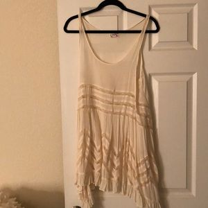 Free people dress in cream