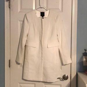 Forever 21 White Blazer Jacket