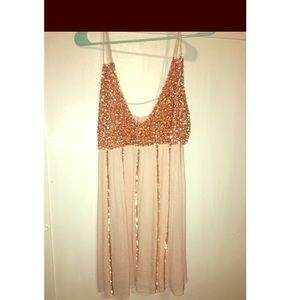 Free people sequin dress small