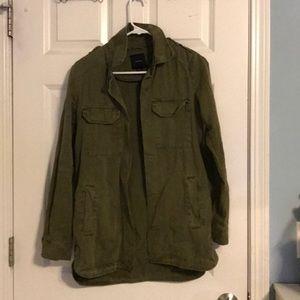 Forever 21 Utility Shirt Jacket