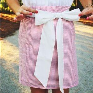 • just madras • seersucker skirt