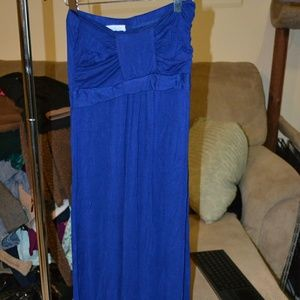 Never worn maxi dress. Purchased in Italy