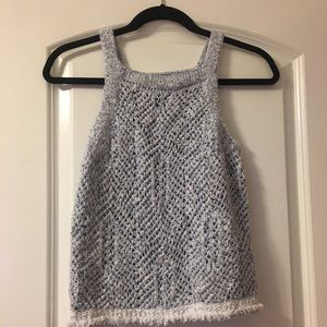 Abercrombie kids sweater/tank top size 13/14 L