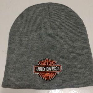 Other - Harley Davidson Grey Beanie