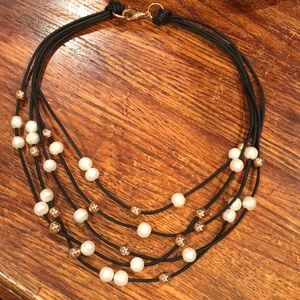 JC Bronze Italy necklace from QVC, NWOT